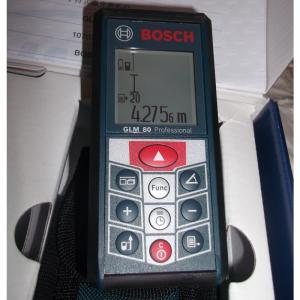 博世激光测距仪GLM80锂电池充电式